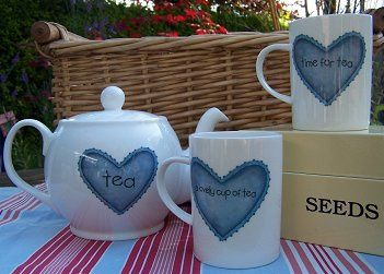 Fine Bone China Tea Set