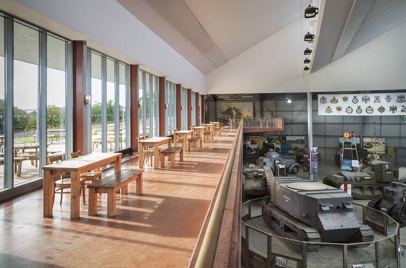 Mezzanine space (no styling)