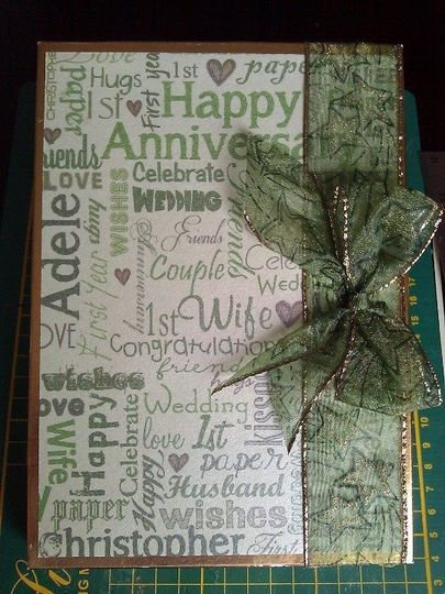 Box for a card