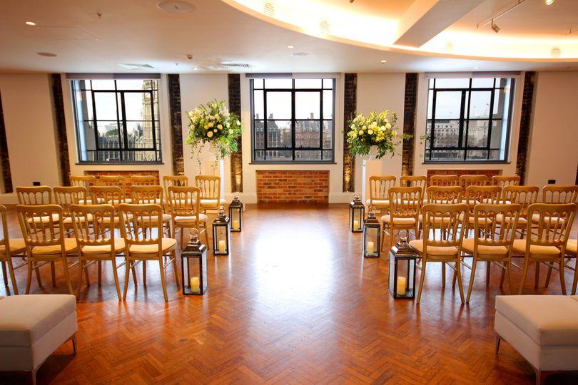 Thames Suite Ceremony