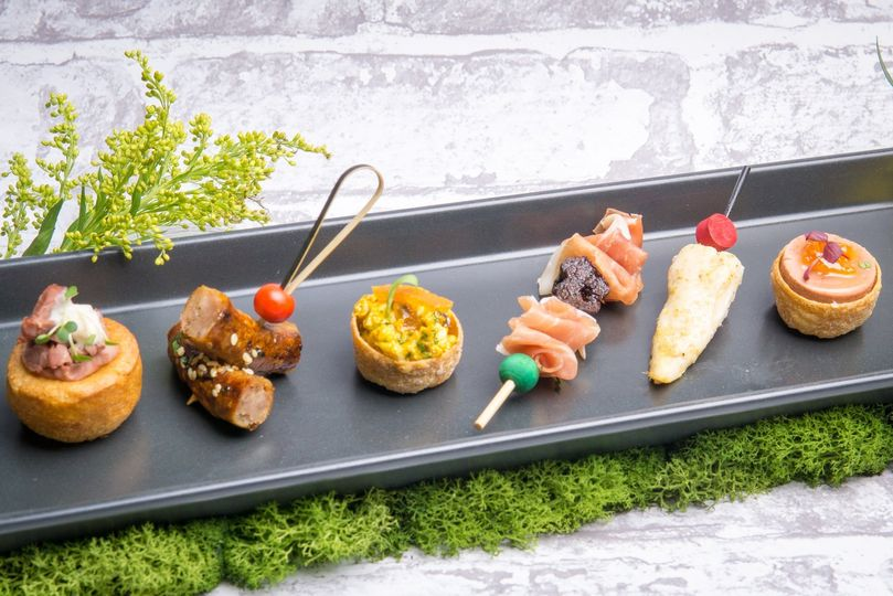 Selection of Meat Canapes