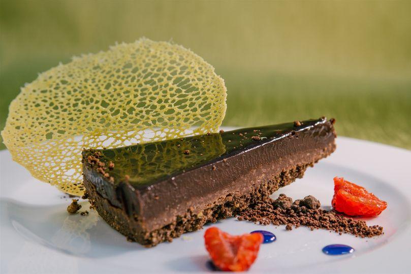 Chocolate & Orange Truffle Torte