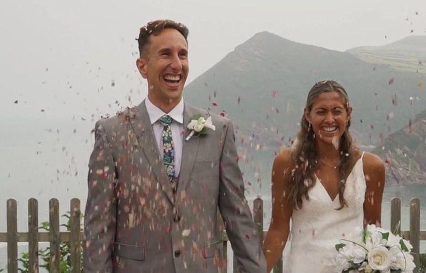 All smiles - Devon Wedding Films