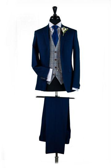 Navy Lounge Suit