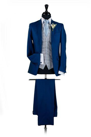 Cobalt Blue Lounge Suit