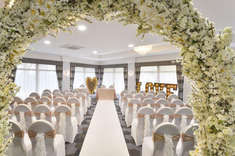 Hopwood Suite Civil Ceremony