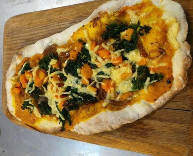 Butternut & Kale Pizza