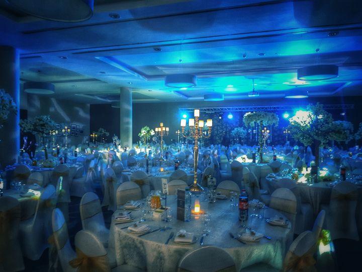 Room shot with lighting