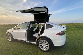 LUX EV Tesla Wedding Car
