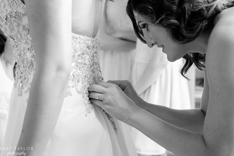 Getting ready - Abby Taylor Photography