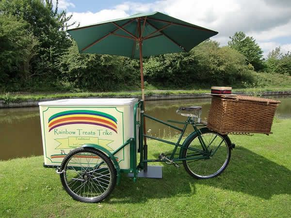 Traditional Ice Cream Tricycle Hire
