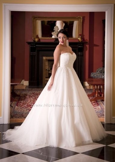 Hilary Morgan gown