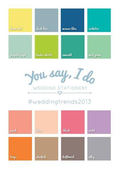 Colour trends 2013