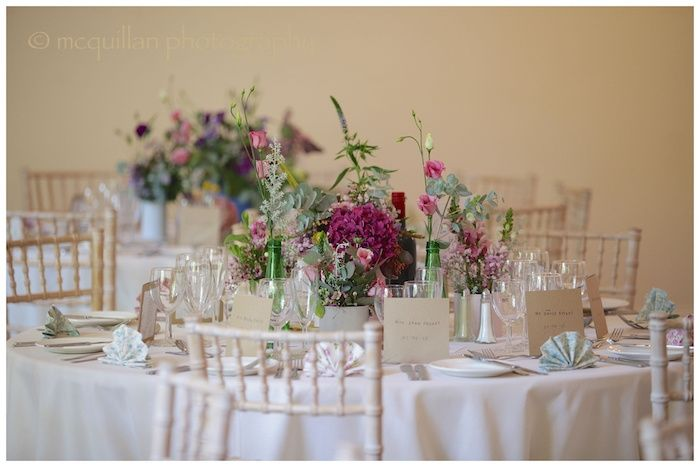 Table Set-Up In The Ballroom
