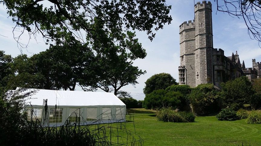 Castle marquee