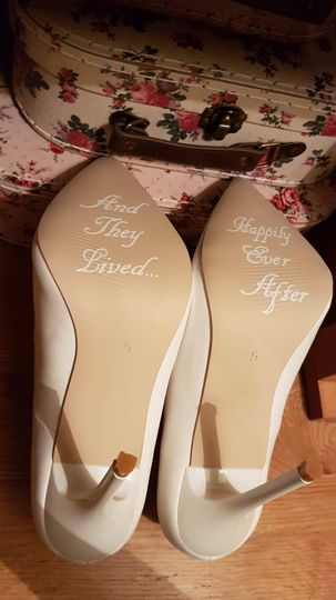 Bespoke shoe decals