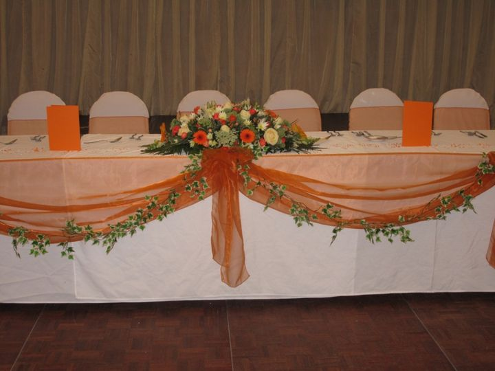Top Table Dressing