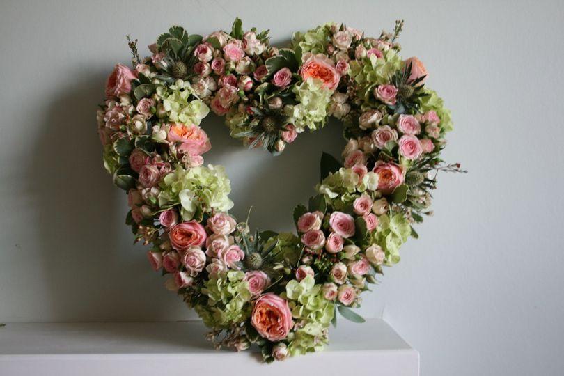 Vintage Rose Wreath