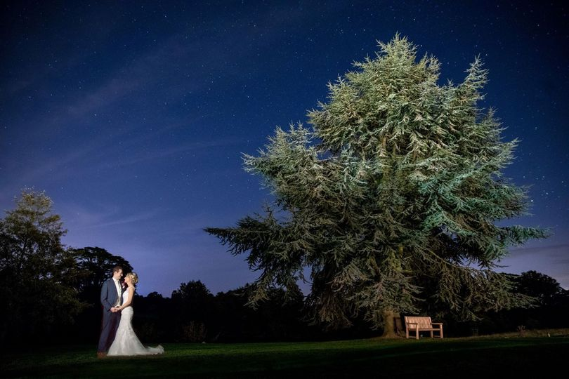 Under the night sky - S. R. Urwin Wedding Photography