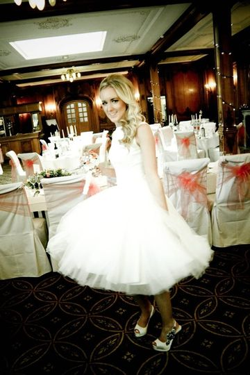 Bride in Olympic Suite