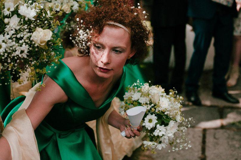 Zoe Brunner Wedding Photo