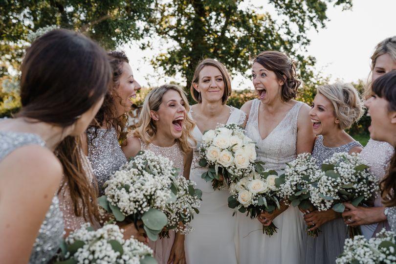 Bridal Party at Wootton Park