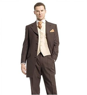 Prince Edward Suit Brown