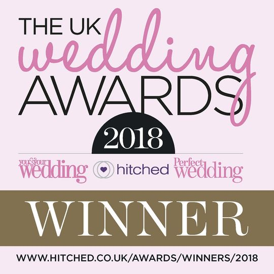 Winners of the Best Musical Entertainment in the UK Wedding Awards 2018!