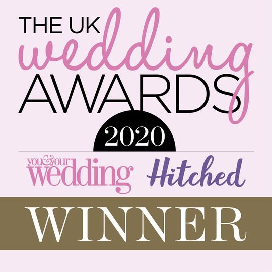 Winners of the Best Musical Entertainment in the UK Wedding Awards 2020!!