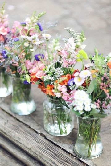 Fresh Tables and Flowers