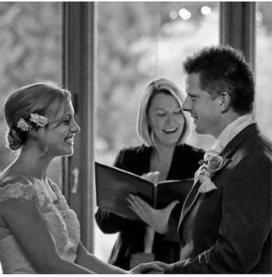 A Cheltenham wedding ceremony