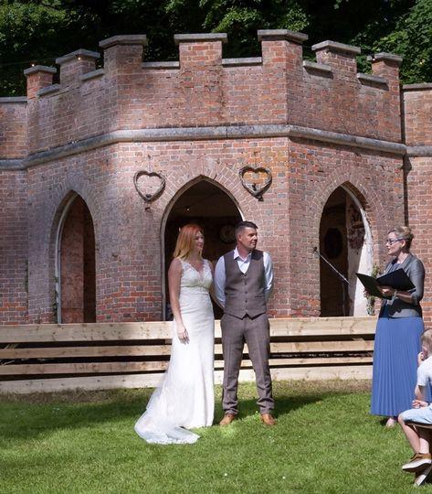 Powderham Castle wedding