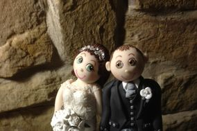 Patchouli Cake Toppers