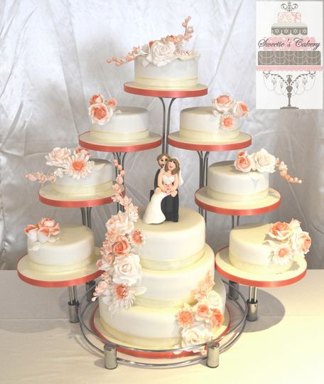10 Tier Wedding Cake