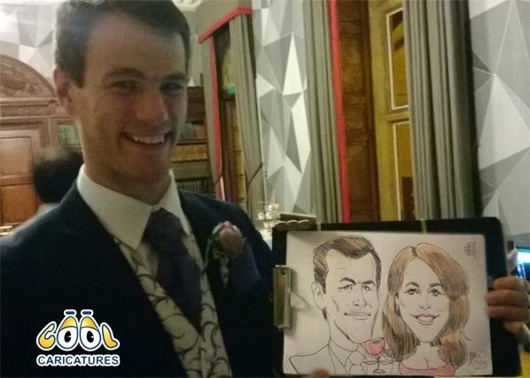 Cool-caricatures Wedding Entertainment