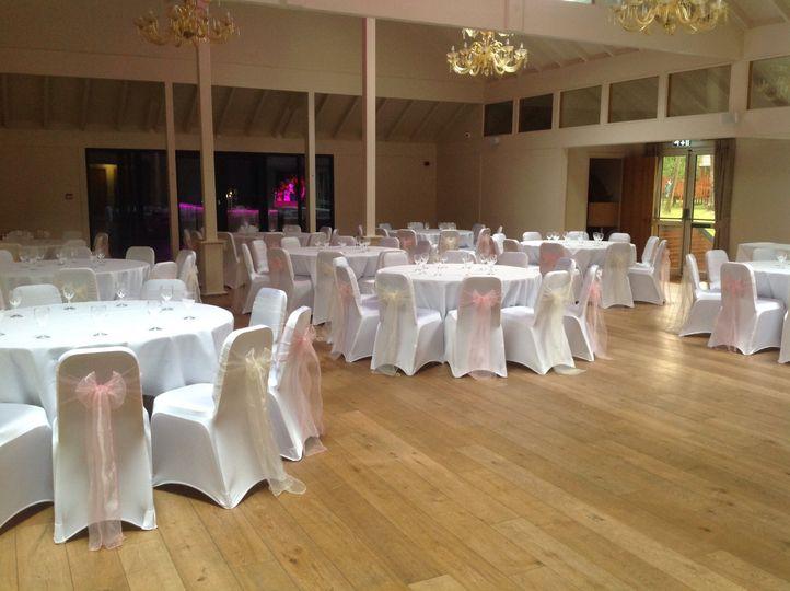 Decorated venue