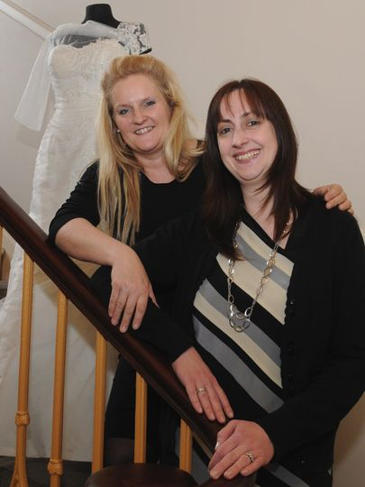 Ailsa Taylor and Wendy Coulson
