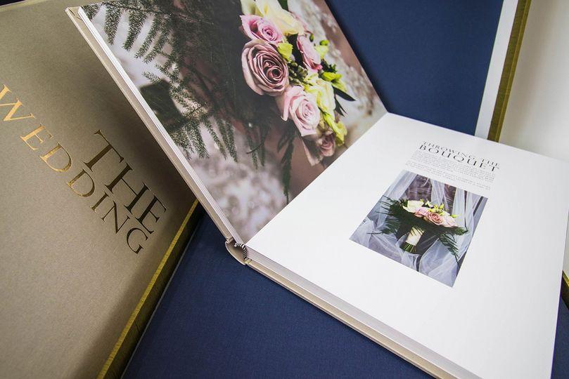 Luxury book & Clamshell box