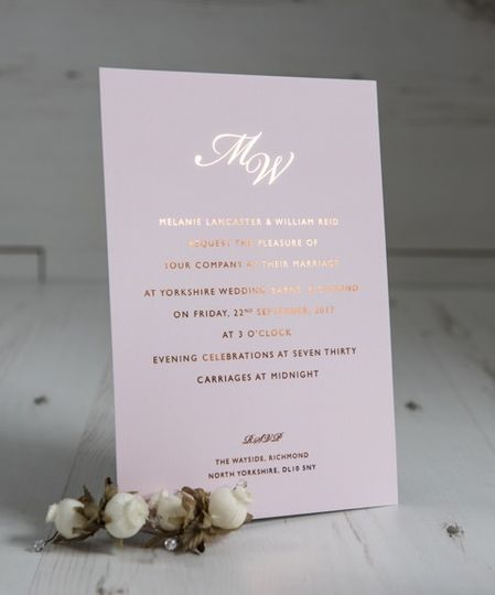Blush Collection - Foiled