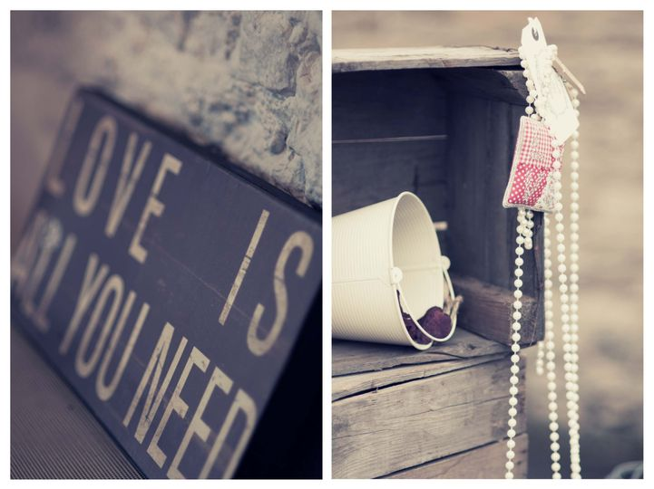 Vintage and rustic prop hire