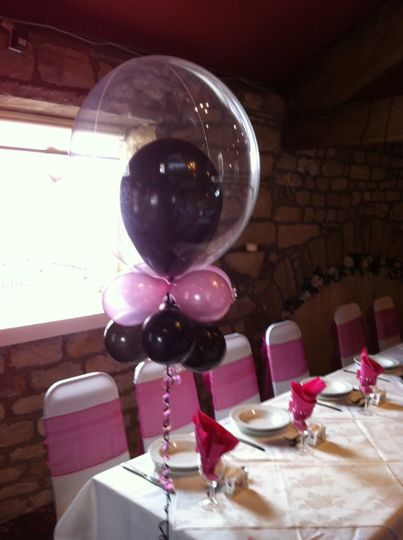 Cloud nine wedding balloon