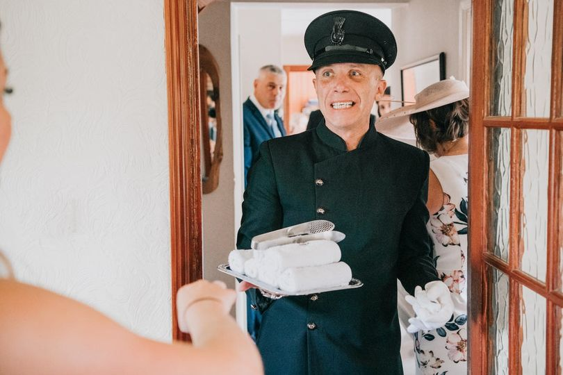 white glove luxury wedding car service