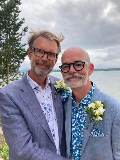Mark & Richard - Sandbanks   s