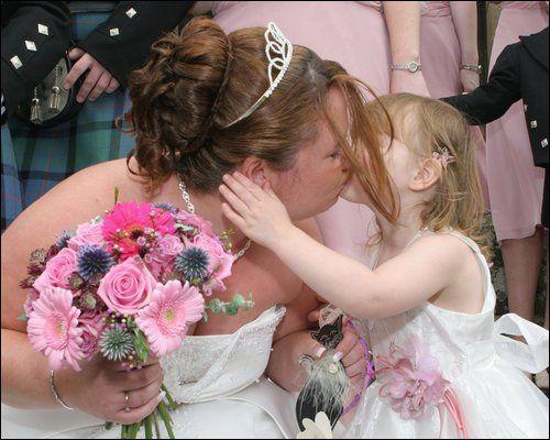 Bride & Flowergirl