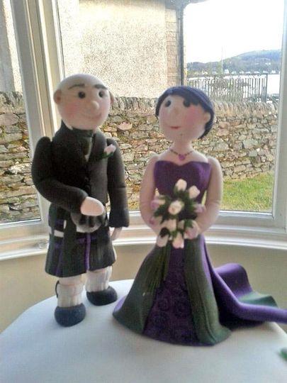 Bespoke bride and groom