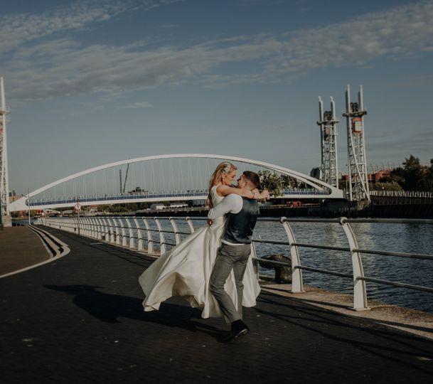 Salford Quays wedding
