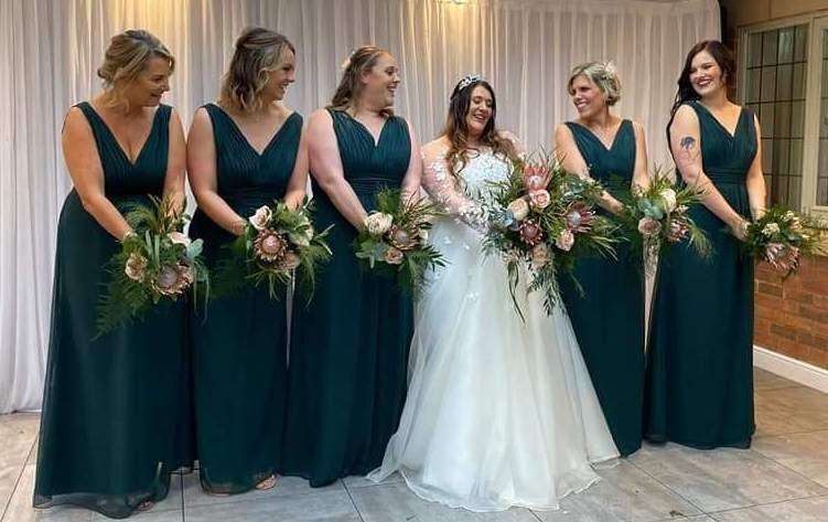 Emma Bridals bridesmaids