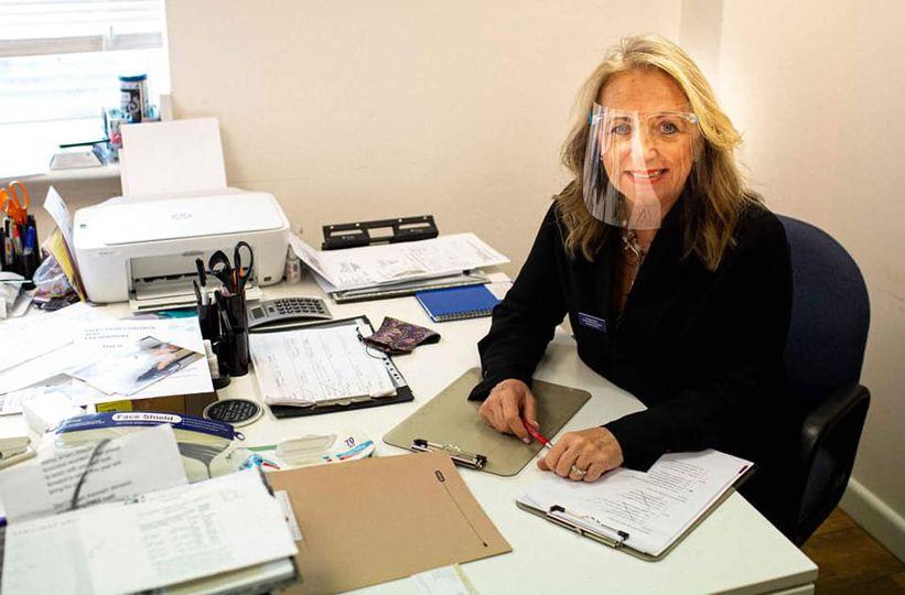 Vanessa hard at work
