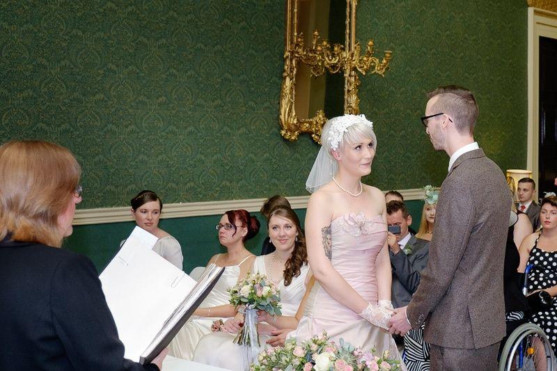 Ceremoney in the Reception Room