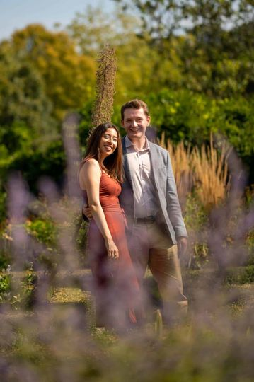 Engagement shoot in Putney